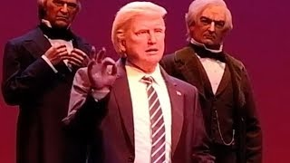 FULL Donald Trump animatronic speech in Hall of Presidents 2017, Walt Disney World
