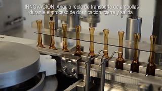 LHCA4 - llenadora y selladora de ampollas - RAMAYON