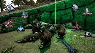 Ark Official PvP - Alpha Ragnarok Boss Fight in less than 5 min.
