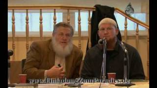3.08.08 / BERLIN - More Converts in Germany ( Live ) - Yusuf Estes & Pierre Vogel