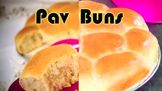 Eggless Pav Bread Buns | Ladi Pav | Pav bread for Pav Bhaji