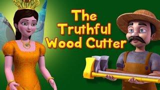 The Truthful Wood Cutter | Stories for Kids | Infobells