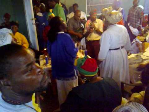 Spiritual Baptist Thanksgiving Service in St Vincent Pt2