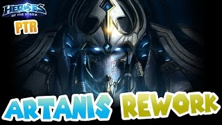 Artanis Rework - The plays are real!!! // Heroes of the Storm PTR