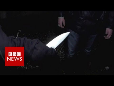 On a knife edge The rise of violence on London s streets BBC News