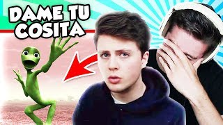 REACTING TO DAME TU COSITA!? (The Pals React to the Most Viewed videos)