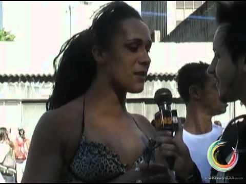 Travesti Na Empolgação Da Parada Gay 2010