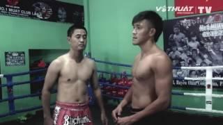 Hướng dẫn võ thuật  Chỏ ngang   Gối thẳng   Quét trụ   Muay Thai   HLV D