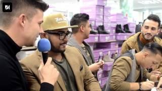 A Ham ko Ham rajongók gyűrűjében adott interjút