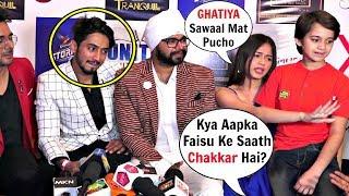 Watch Jannat Zubair ANGRY Reaction On Affair With Faisu At Tere Bin Kive Success Party