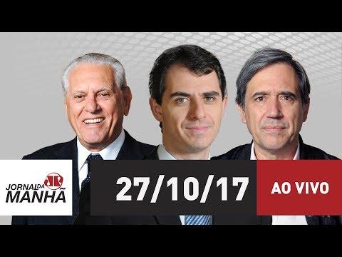 Jornal da Manhã  - 27/10/17
