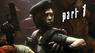 Resident Evil Remastered Walkthrough Gameplay Part 1 - Jill (PS4 PC)