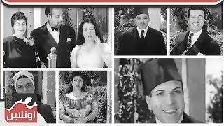 فيديو نادر جدا - نجوم الزمن الجميل في حفل نادر باستوديو مصر٢ ٤ ٩ ١