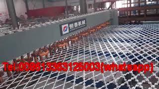 Full automatic razor wire mesh welding machine/Welding razor wire machine