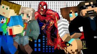 Minecraft: SPIDERMAN MURDER | MODDED MINI-GAME