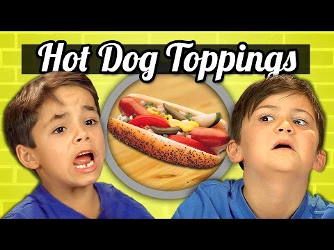 Xxx Mp4 KIDS Vs FOOD 19 HOT DOG TOPPINGS 3gp Sex