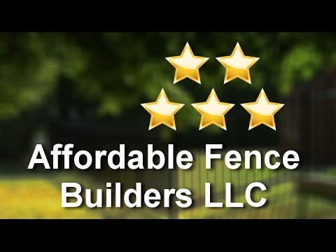 Affordable Fence Builders LLC Indianapolis          Amazing           Five Star Review by Kathr...