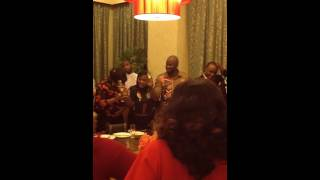 Fathia Balogun's Surprise birthday (Toast Part)