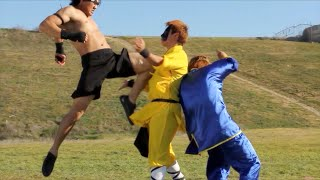 Muay Thai vs Kung Fu | Martial Arts Action Scene