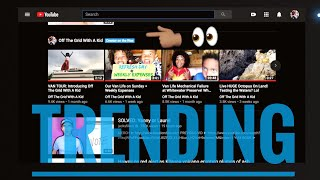 We're on the YouTube Homepage!!