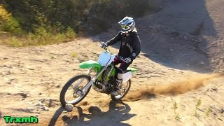 Kawasaki KX250 Autumn Freeride