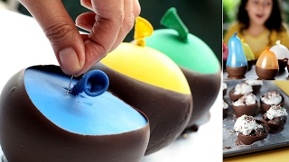 How to Make Chocolate Balloon Bowls..!