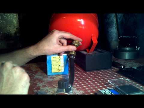 Заправка газового баллона в домашних условиях