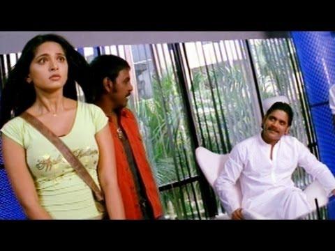 Anushka Searching A Job | Comedy Kings | Akkineni Nagarjuna, Anushka Shetty | HD