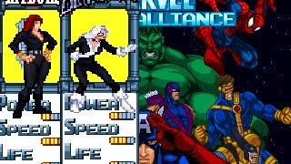 Black Cat and Black Widow Update - Marvel First Alliance 2