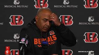 Coach Marvin Lewis on Loss to Steelers   Steelers vs Bengals Week 13   Dec 4, 2017