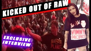 Felicia Rose KICKED OUT Of WWE RAW ! - Interview - 8/20/2018