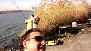 Риболов на тец 2- хангара