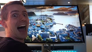 THIS 8K MONITOR IS AMAZING