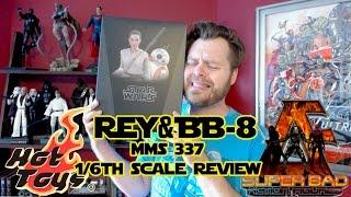 REY & BB-8 HOT TOYS STAR WARS MMS 337
