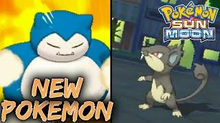 NEW POKEMON! ALOLA RATTATA + EXCLUSIVE Z MOVES! - Pokemon Sun & Moon Live Reaction