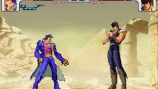Jotaro vs Kenshiro