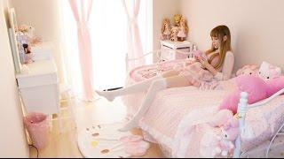 My Bedroom Tour ♡私のルームツアー♡ 我的房間
