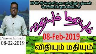 விதியும் மதியும் | Jumma Bayan 2019 | Tamil Bayan 2019 | Tamil Islamic Bayan 2019 | Yaseen Imthadhi
