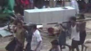 Burma's Cyclone Nargis disaster video