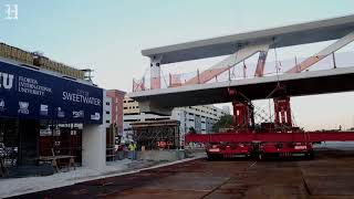 This is how the FIU bridge looked like before collapsing