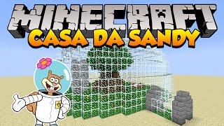 Minecraft: Como construir a Casa da Sandy (Bob Esponja)