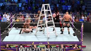 WWE 2K15  - Бои Суперзвёзд - Rock VS Triple H VS Steve Ostin VS Kane VS Undertaker VS Shamus