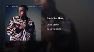 Back To Sleep