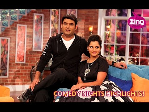 Sania Mirza As Guest On Comedy Nights With Kapil