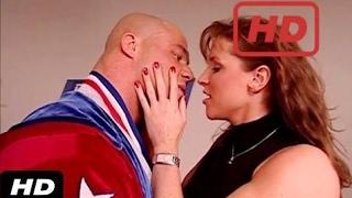WWE Kurt Angle Kisses Stephanie McMahon | WWE SmackDown | HD