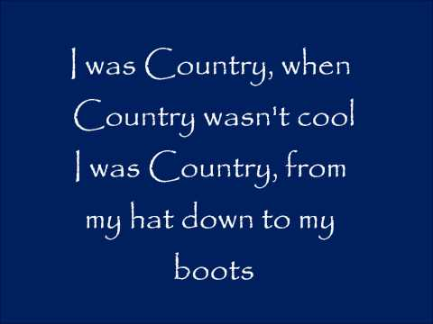 I Was Country When Country Wasn t Cool Lyrics Barbara Mandrell