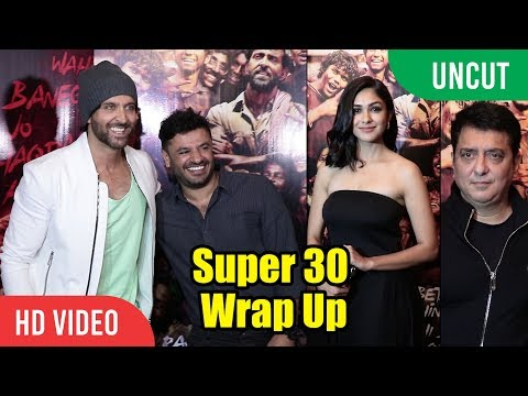 Xxx Mp4 UNCUT Super 30 Wrap Up Celebration Hrithik Roshan Mrunal Thakur Ajay Atul Sajid Nadiadwala 3gp Sex
