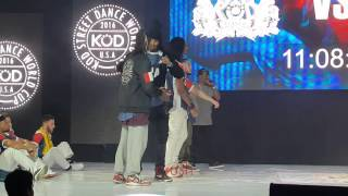 Les Twins KOD Larry Quarterfinals- round 1