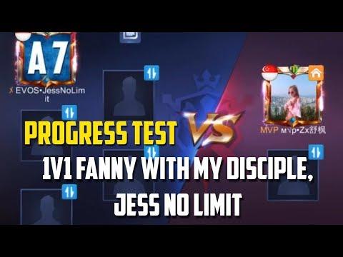 The long-awaited Fanny 1v1 with my disciple, Jess No Limit!