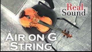 """【HD】 Johann Sebastian Bach """"Air on G String""""(HQ Sound)"""